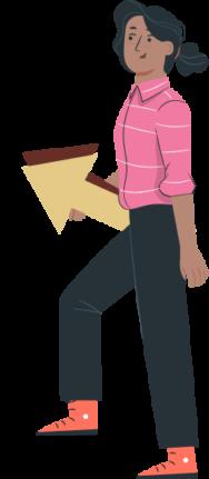 chica-flecha-ilustracion